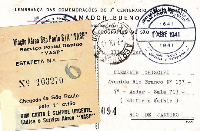 5 - Fig 5 Bilhete Postal verso