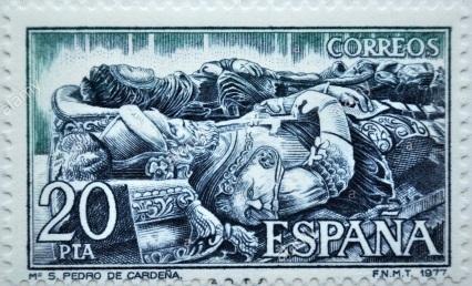 7 - Fig 5 Tumulo de El Cid e Jimena na Catedral de Burgos