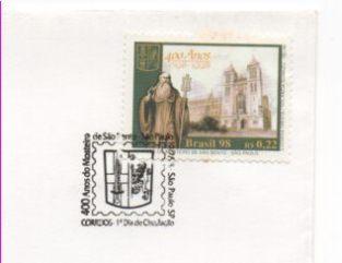 Fig 04 Selo RHM 2142 Mosteiro de São Bento SP