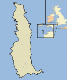 Fig 1 Ilha de Lundy