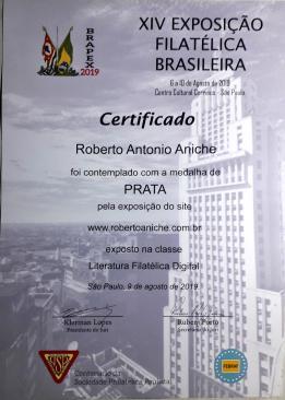 CERTIFICADO BRAPEX 2019